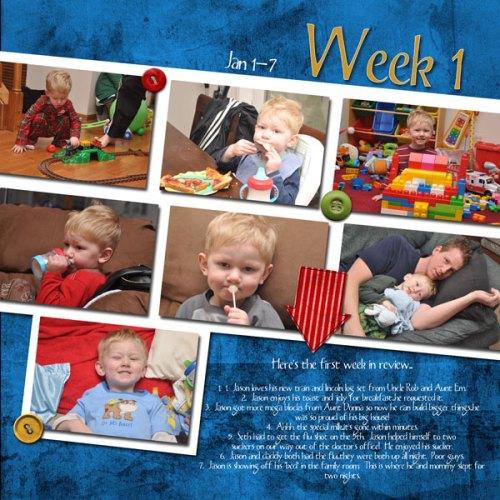 Jason's Week 1