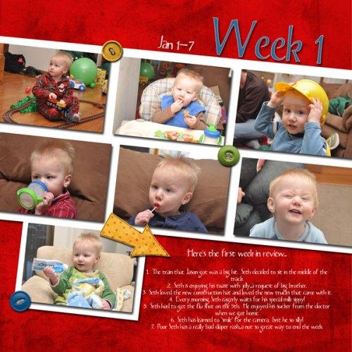 Seth's Week 1