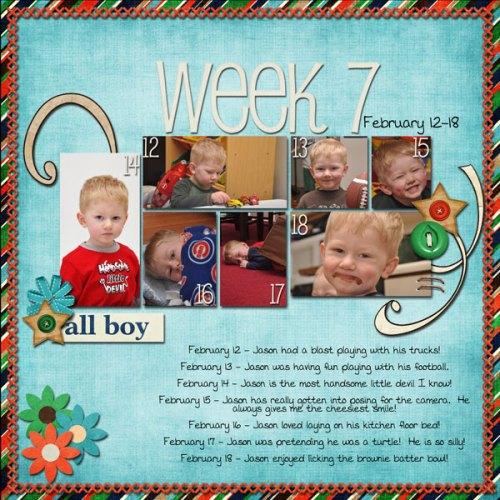 Jason's Week 7