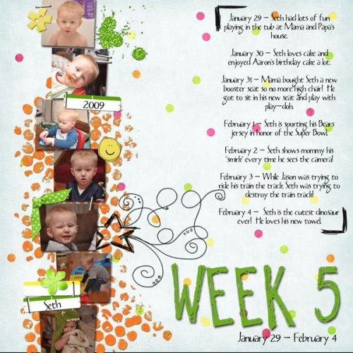 Seth's Week 5