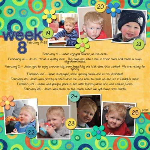 Jason's Week 8