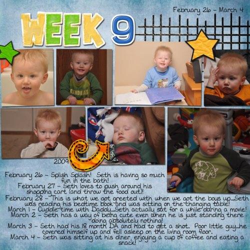 Seth's Week 9