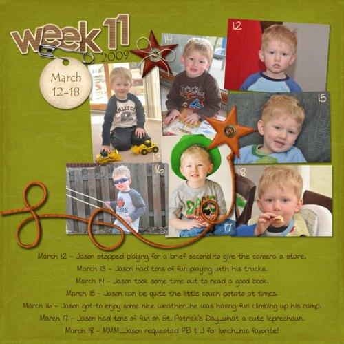 Jason's Week 11