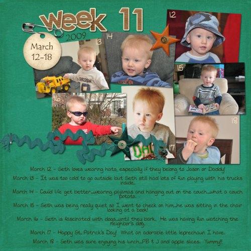 Seth's Week 11