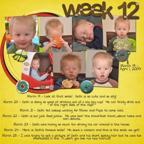 Seth's Week 12
