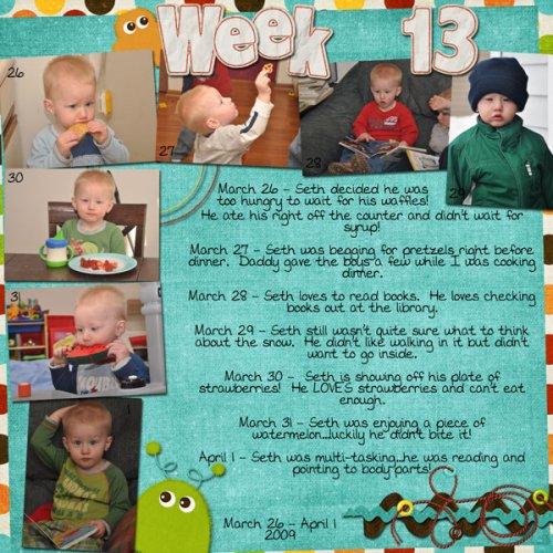Seth's Week 13