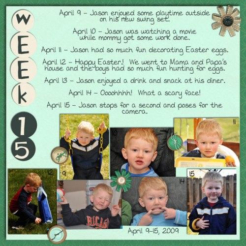 Jason's Week 15