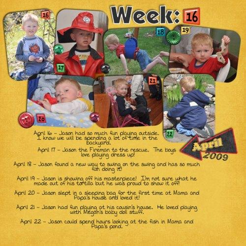 Jason's Week 16
