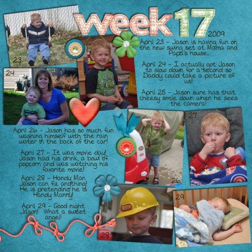 Jason's Week 17