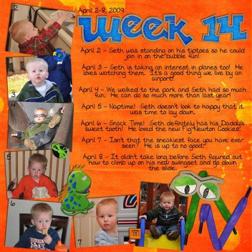 Seth's Week 14