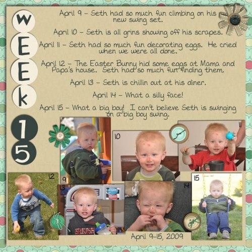 Seth's Week 15