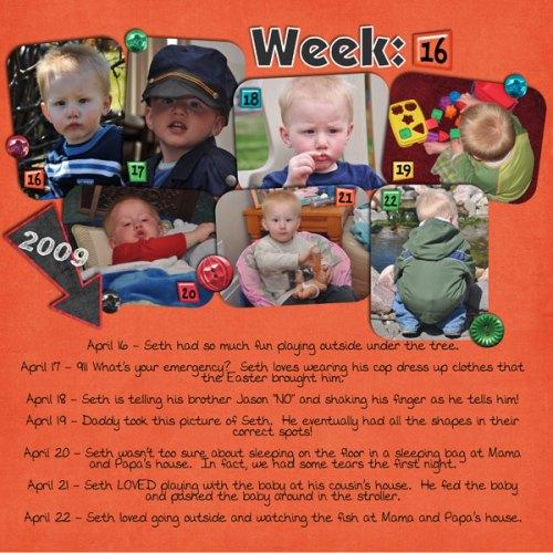 Seth's Week 16