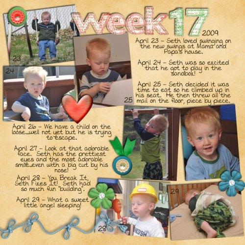 Seth's Week 17
