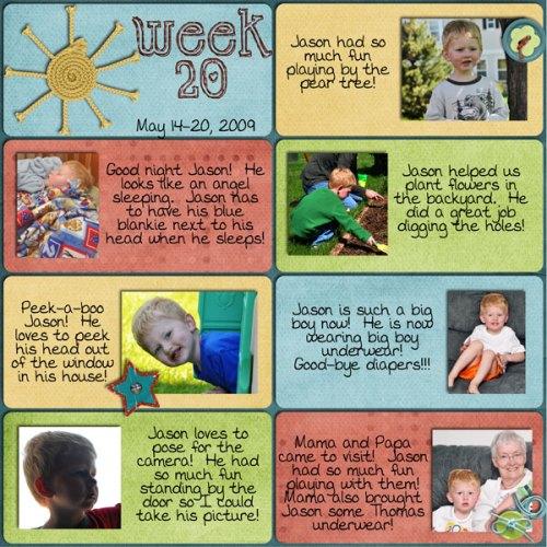 Jason Week 20